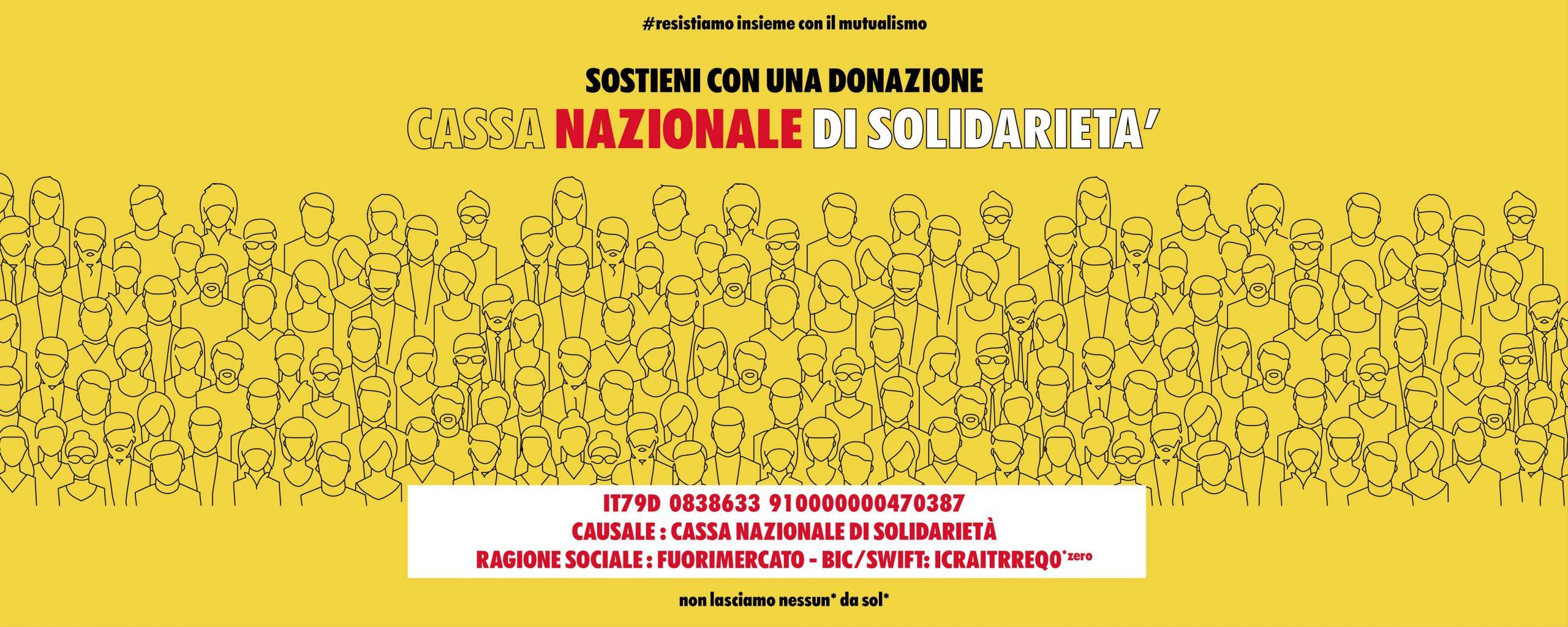 Banner Cassa Nazionale Solidarietà Giallo